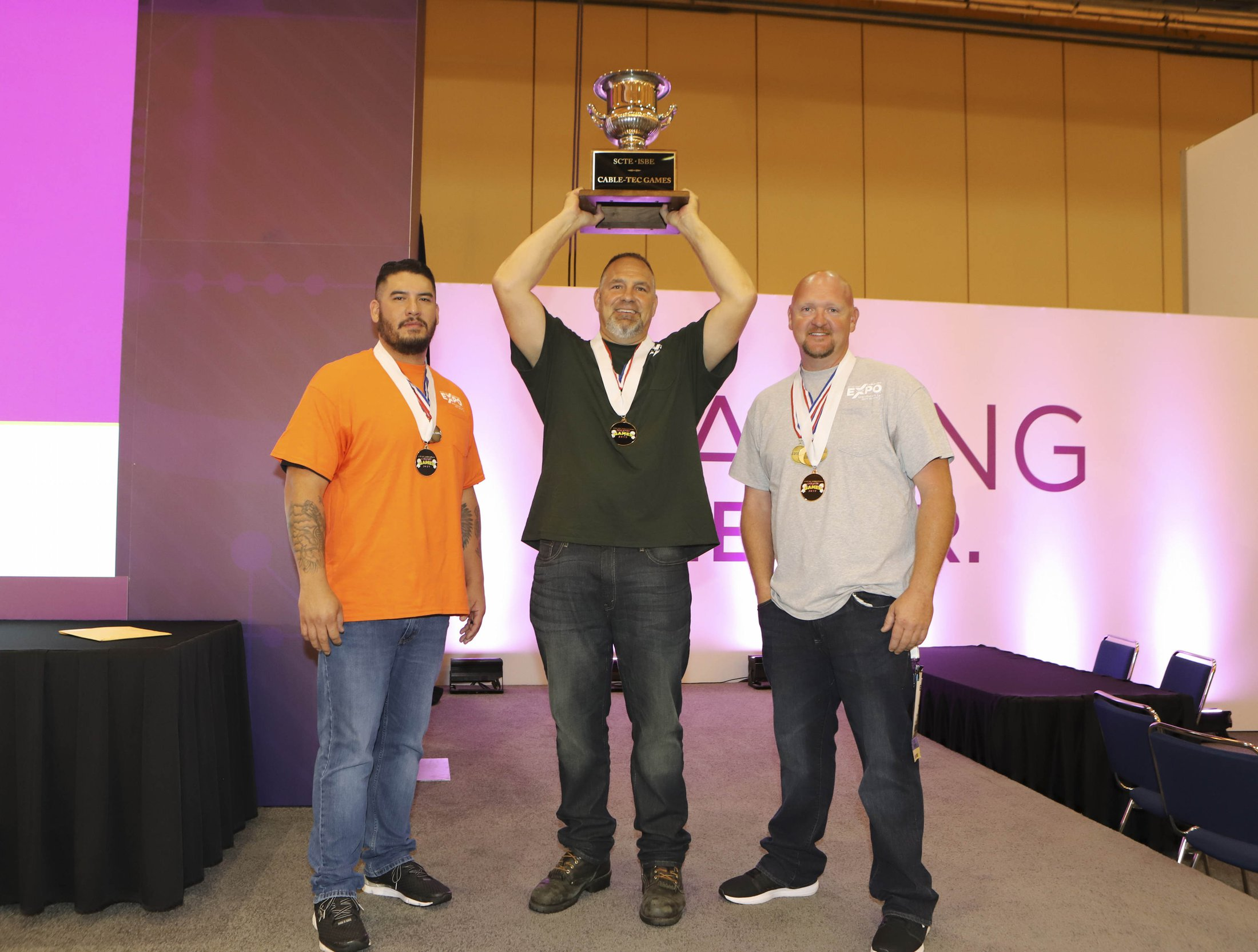 2019 International Cable-Tec Games Winners